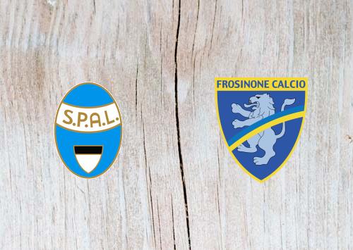 SPAL 2013 vs Frosinone - Highlights 28 October 2018