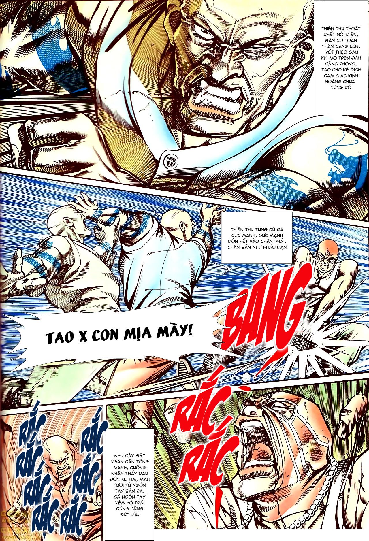 Người Trong Giang Hồ chapter 145: máu thịt tung tóe trang 17