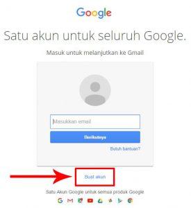Langkah Cara Daftar Buat Email Gmail.