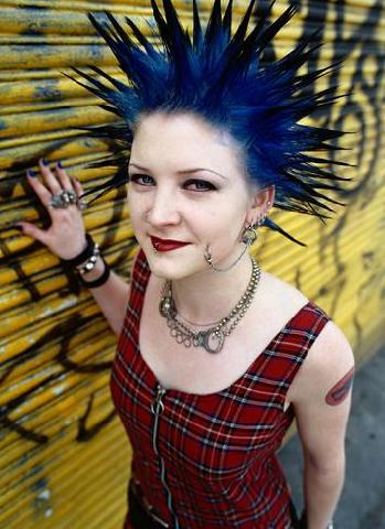 Súper fácil peinados punk mujer Fotos de cortes de pelo Ideas - Top Hairstyle: Peinados de moda estilo punk para mujer