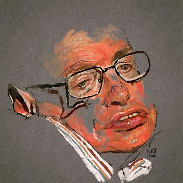Portrait of Stephen Hawking