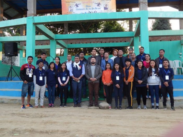 Chümoukedima Gorkha Youth 4th sports meet ends