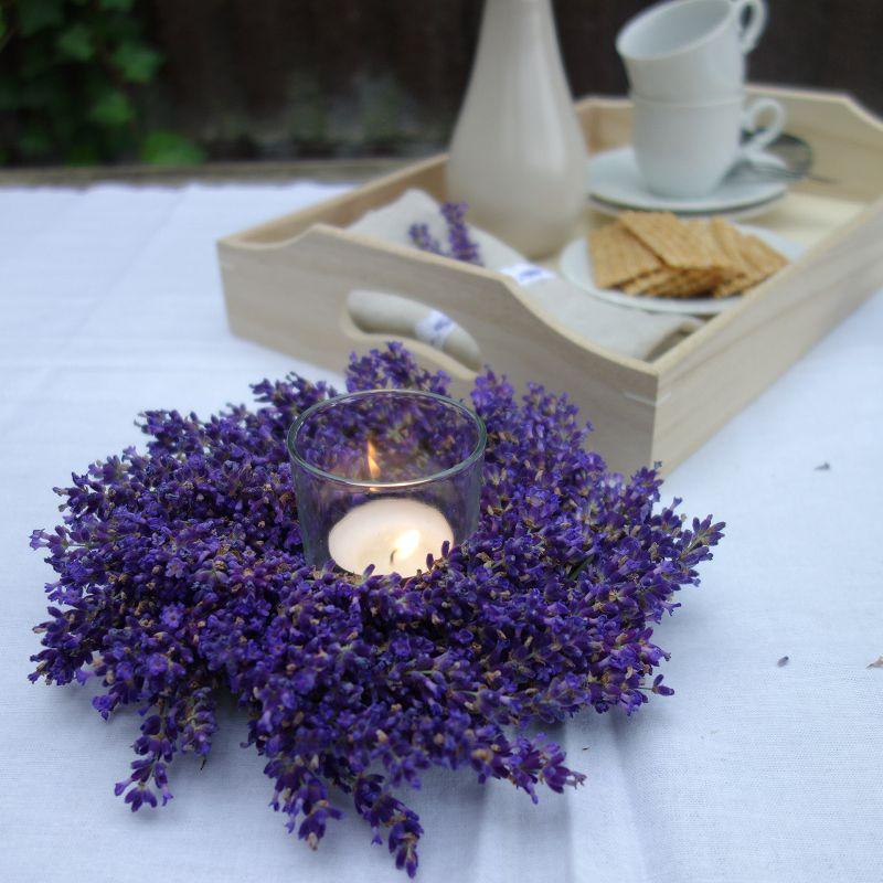 Deko Lavendel.Diy Lavendelkranz Selber Binden Perlenkuchen