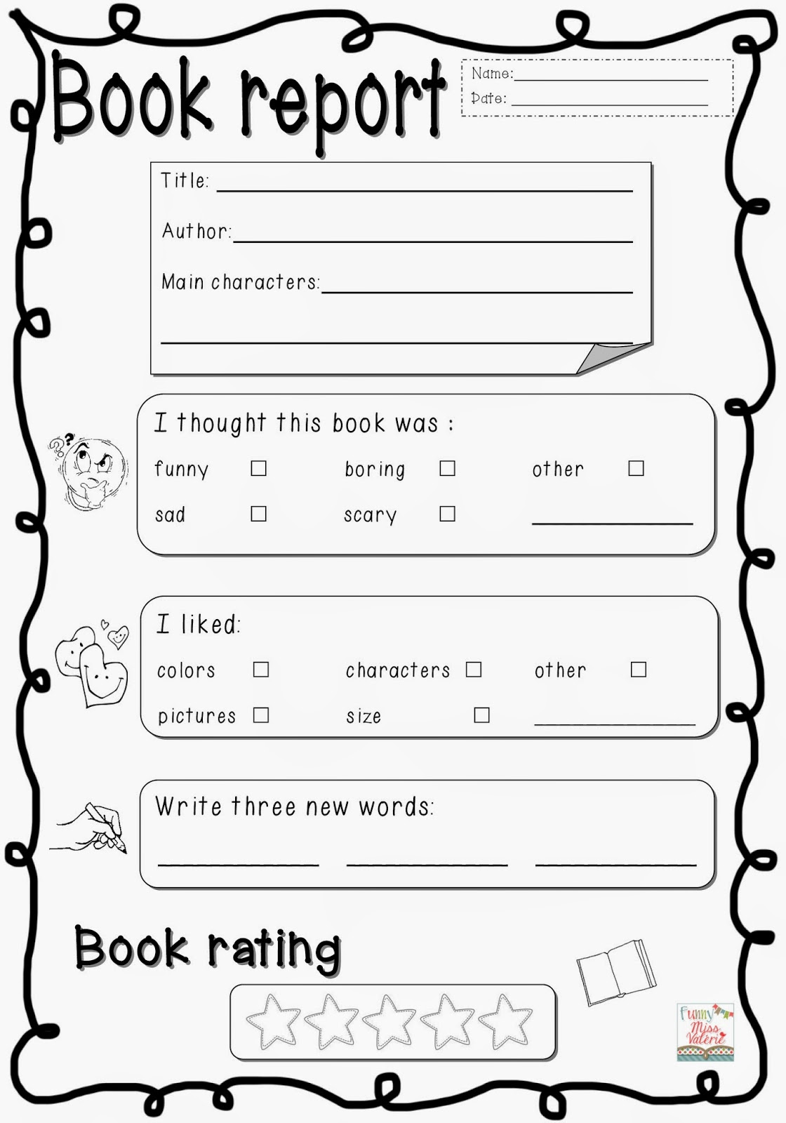 Outline writing book report 4th grade buy cheap paperbacks online ...