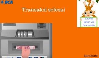 Gambar 10 - 10 Langkah Mudah Cara Tarik Tunai di ATM dengan BCA Mobile