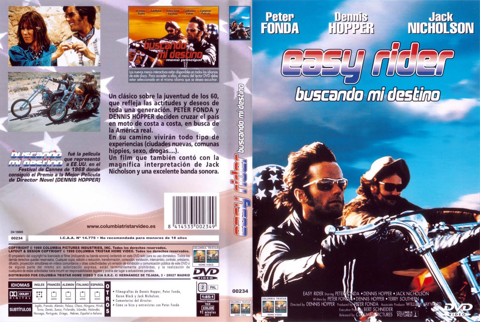 Easy Rider 1969 Descarga Cine Clasico