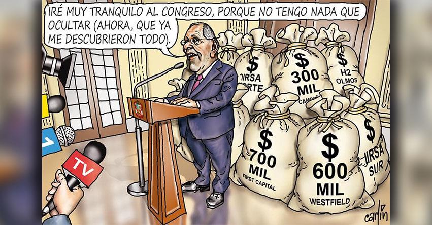 Carlincaturas Martes 20 Marzo 2018 - La República