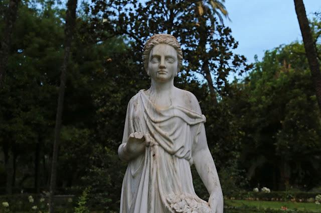 Estatua de la Glorieta de la Concha