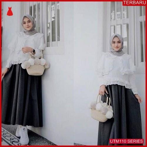 UTM110F60 Baju Finata Muslim Set Dewasa 2in1 UTM110F60 06E | Terbaru BMGShop
