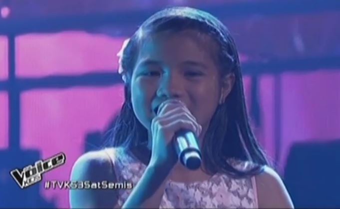 "Antonetthe Tismo sings ""Paano Bang Mangarap"" on Voice Kids Philippines Semi-Finals"