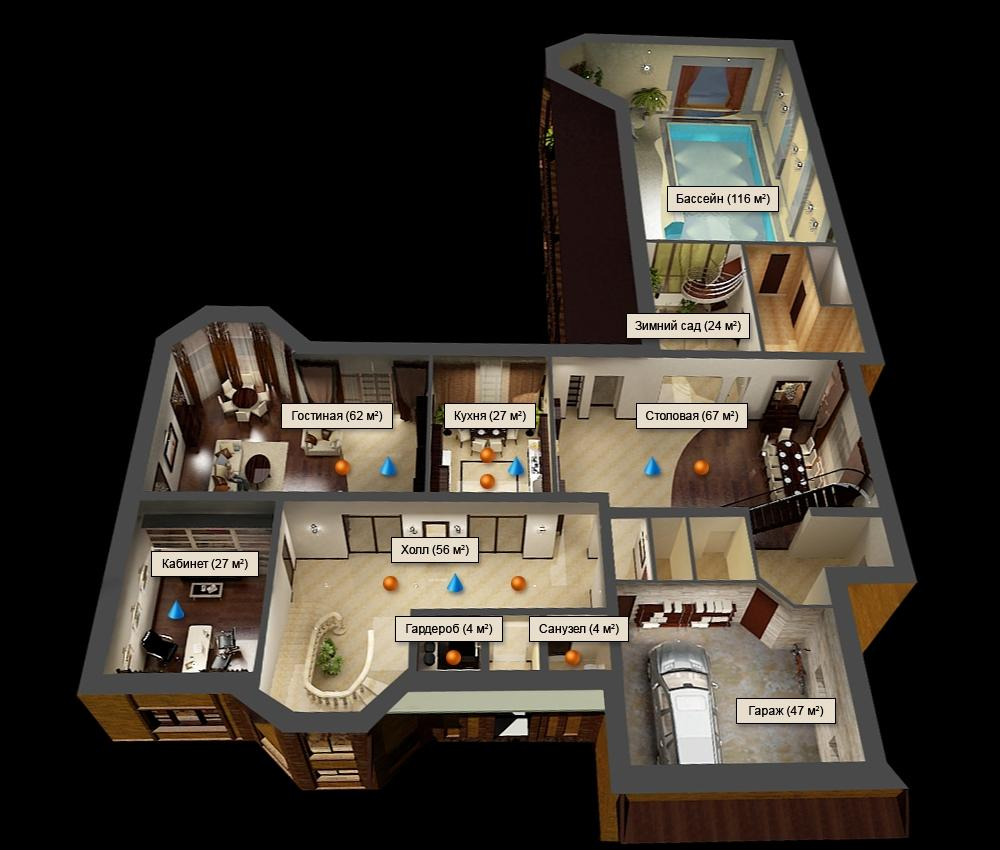 House planning with 3d floor plans compare old artitectural drawing with modern 3d floor designs - Home design d apk ...