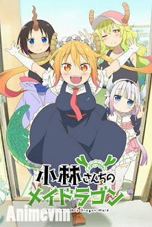 Kobayashi-san Chi No Maid Dragon -  2017 Poster