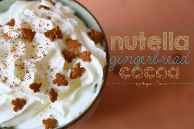 Nutella Gingerbread Cocoa Recipe from Anyonita Nibbles