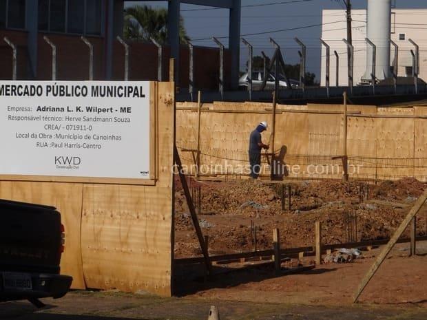 Construção do Mercado Público Municipal de Canoinhas