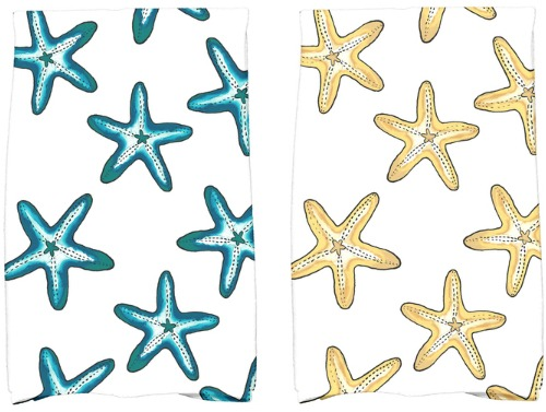 Starfish Kitchen Towels