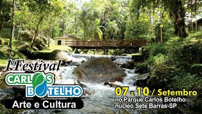 Festival de Arte & Artesanato Parque Carlos Botelho em Sete Barras