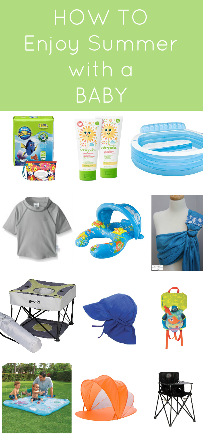 Summertime Essentials for Baby