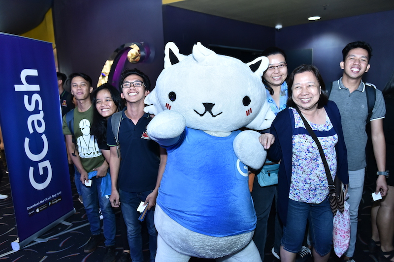 GCat at the Gateway Cineplex