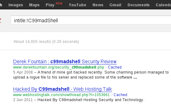 Elusive Thoughts: PHP Malware C99 Shell