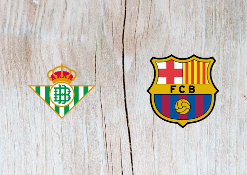 Real Betis vs Barcelona Full Match & Highlights 17 March 2019