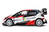 Toyota Yaris WRC 2017 Side