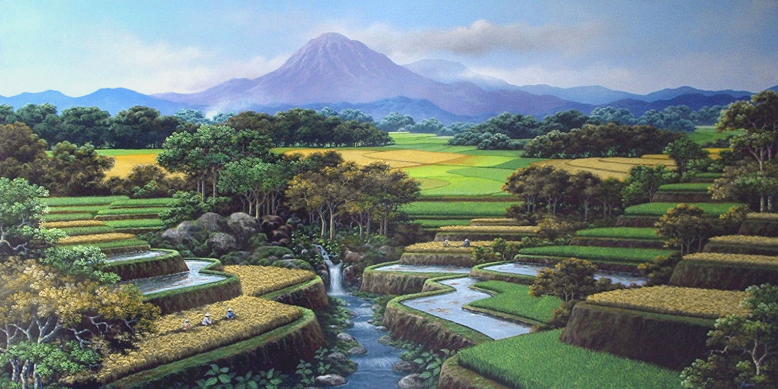 Gambar Pemandangan Alam Yang Indah Bergerak
