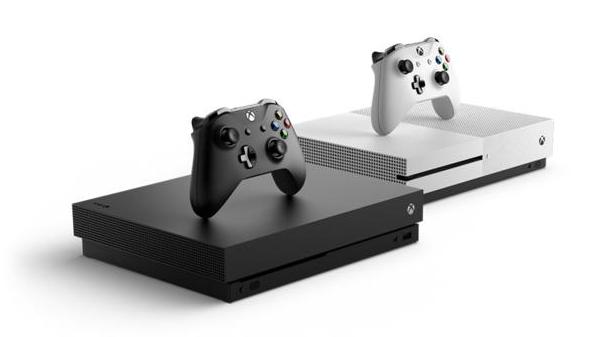 Xbox One Ox e Xbox One S