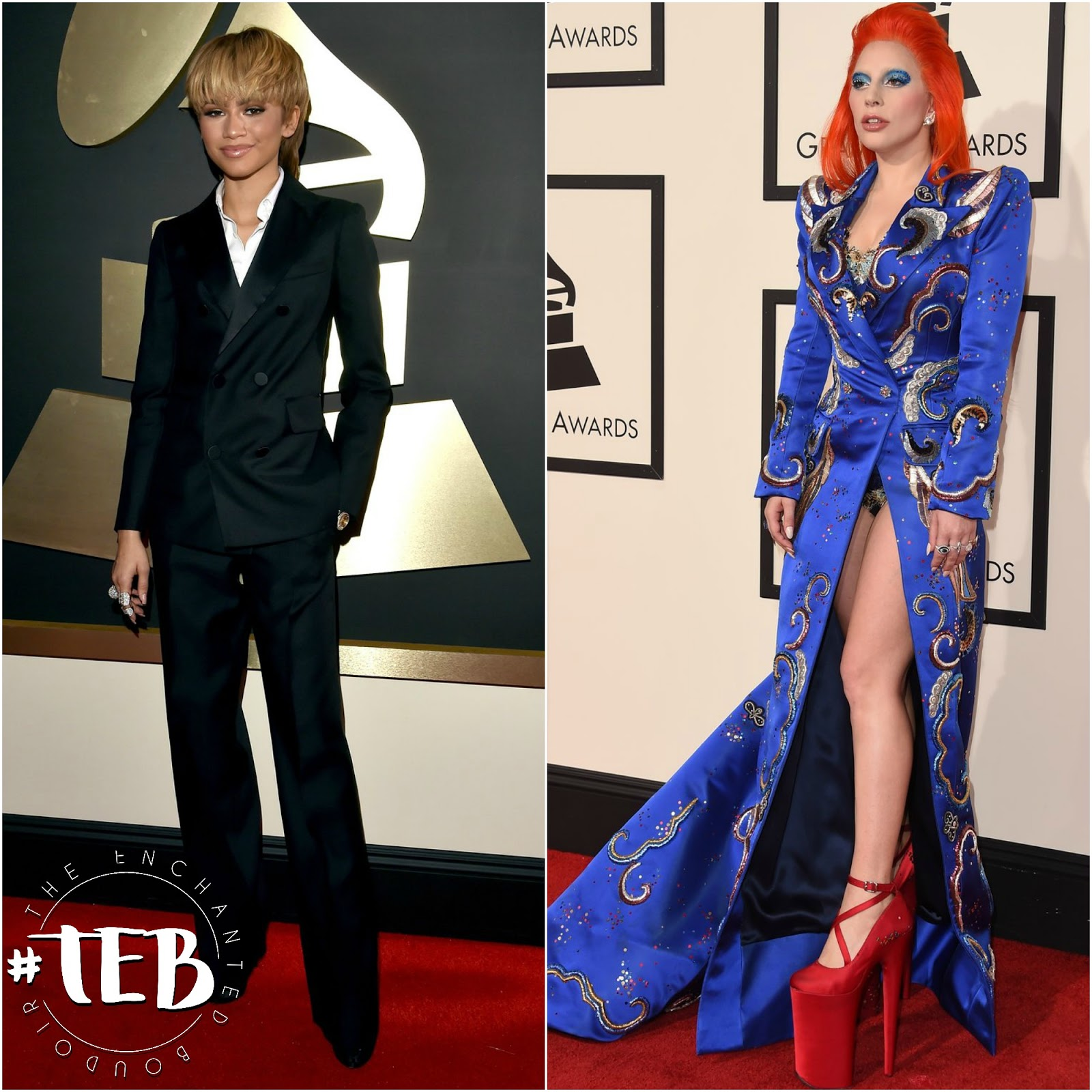 GRAMMY AWARDS 2016 red carpet