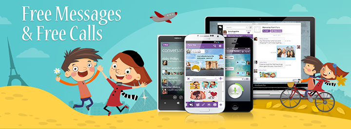 Free Messages and Free Calls with Viber