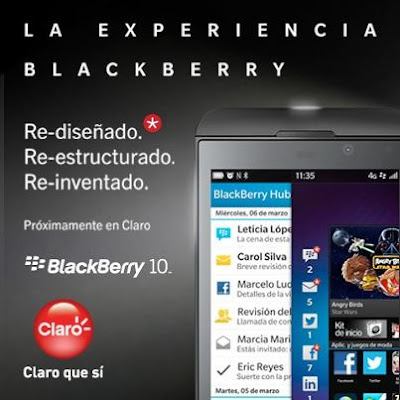 El día de hoy la operadora Claro Ecuador ha lanzado oficialmente el BlackBerry Z10. Anteriormente les habíamos comentado sobre el Pre-Registro de esté dispositivo por parte de está operadora, Pero el día de hoy ha llegado de manera oficial a Ecuador. El la mañana del día jueves se llevo a cabo el lanzamiento del BlackBerry Z10 por parte de Claro donde estuvieron importantes representantes de la empresa, Medios de comunicación e Invitados especiales. El lanzamiento del BlackBerry Z10 fue el día de hoy, Pero los usuarios podrán adquirir esté dispositivo en las tiendas de Claro a partir del 26 de