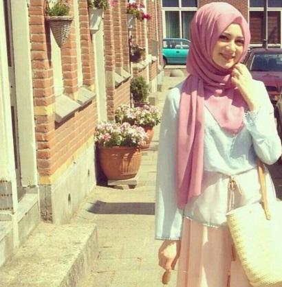 Gaya Terbaru 69 Fashion Hijab Ala Turki
