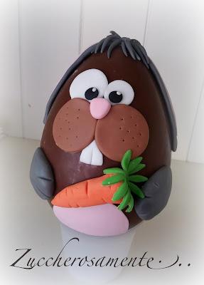 Zuccherosamente uova di pasqua decorate con pasta di - Uova decorate per bambini ...