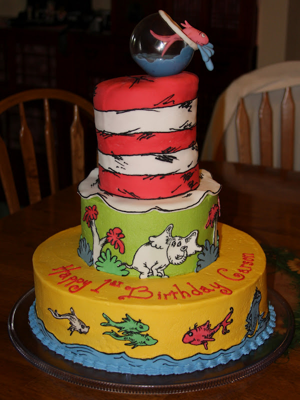 Magnificent Tammys Frosted Memories Carsons Dr Seuss Cake Funny Birthday Cards Online Alyptdamsfinfo