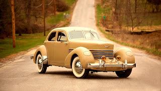 1937 Cord 812 Beverly Sedan Front Right