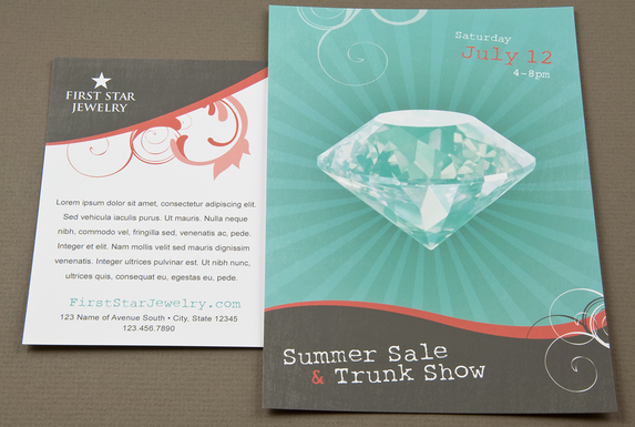 The Best Jewelry Brochure Design Sample For Your Most