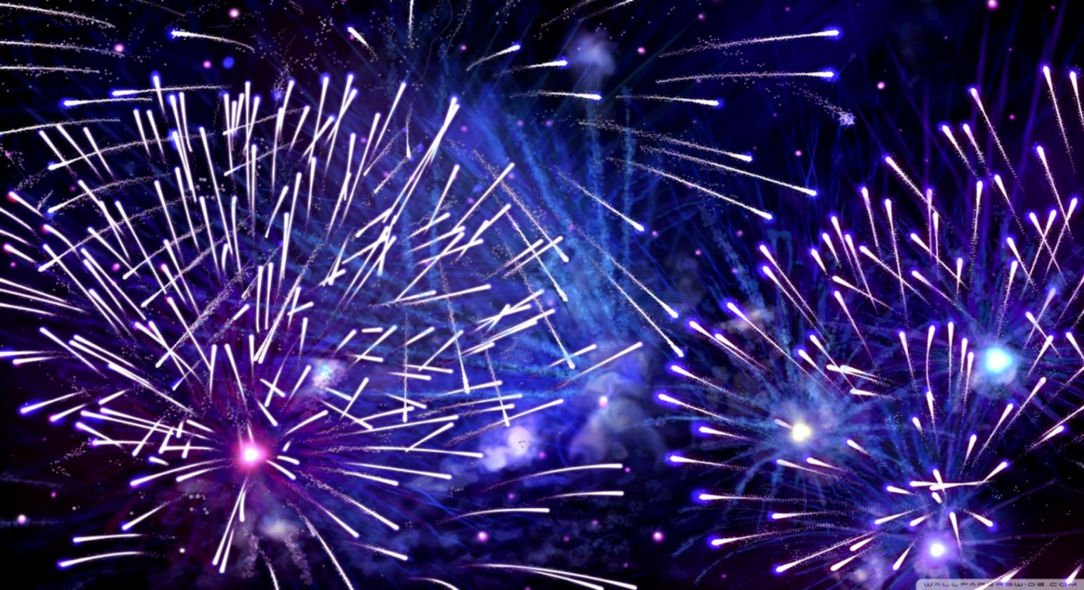 new year firework wallpaper