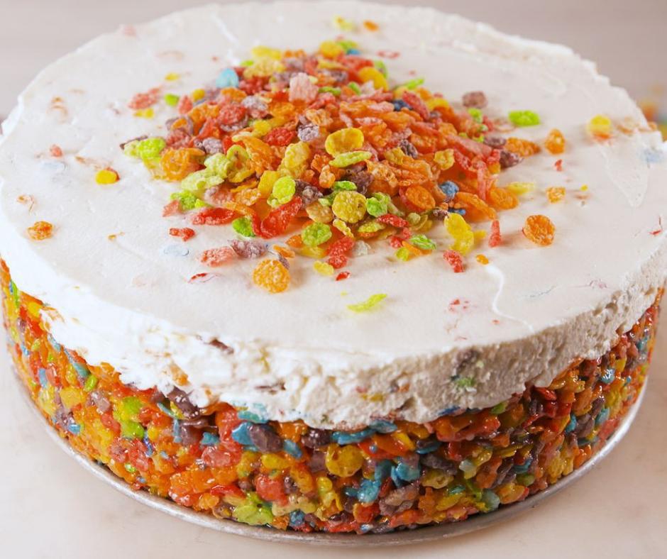 Fruity Pebbles Cheesecake - food-drink-recipes.com