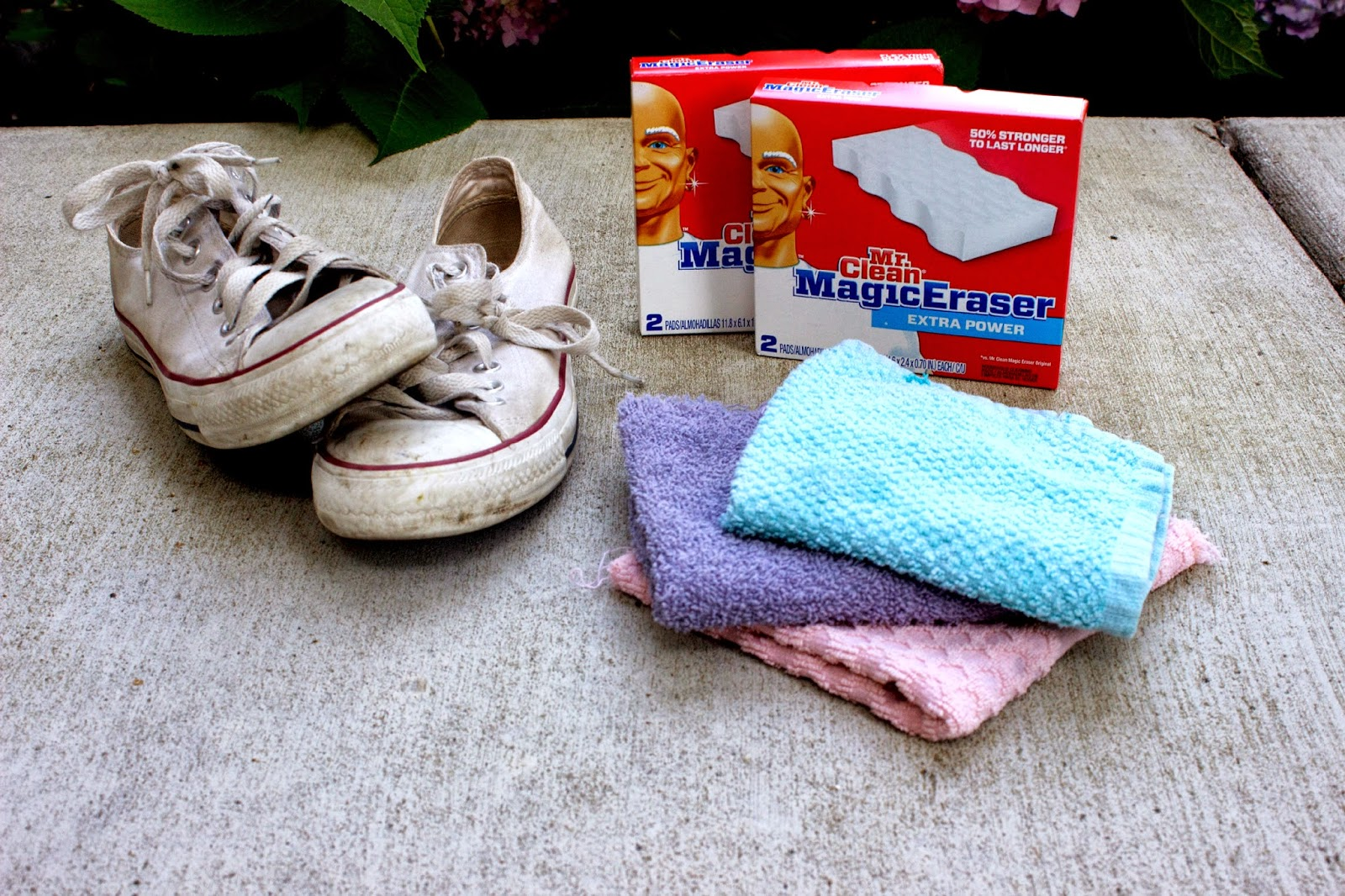 849852f45961 HOW TO CLEAN WHITE CONVERSE SHOES • All That Shimmers Blog
