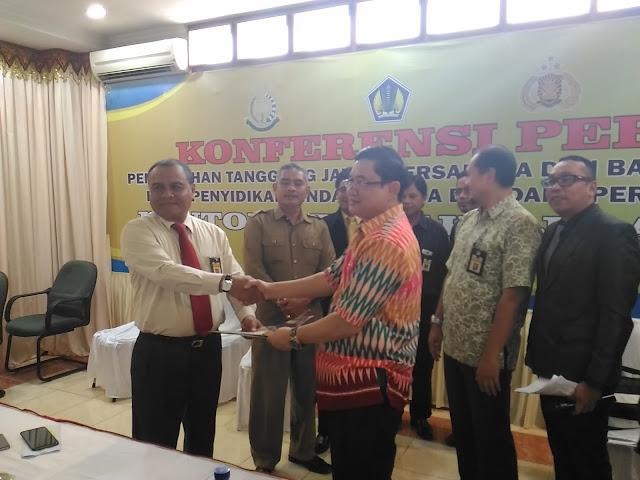 DJP Serahkan Tersangka Penggelapan Kasus Pajak ke Kejati Aceh
