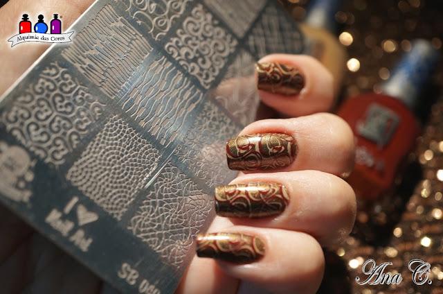 SB 040, sugar bubbles, Moo Moo's Signatures, Chasing Tumbling Tumbleweeds, moyra stamping polish