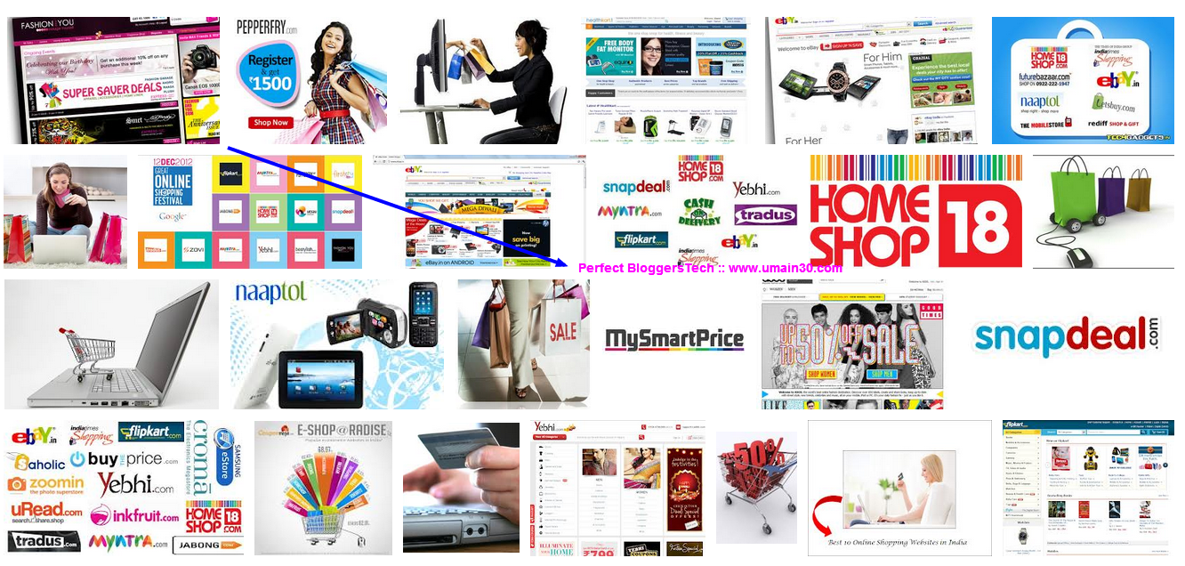 Entrepreneurship and top online shopping websites in India