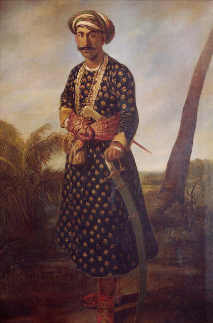 Full length Portrait of Tipu Sultan