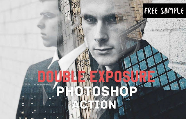 Basic Double Exposure Photoshop Action