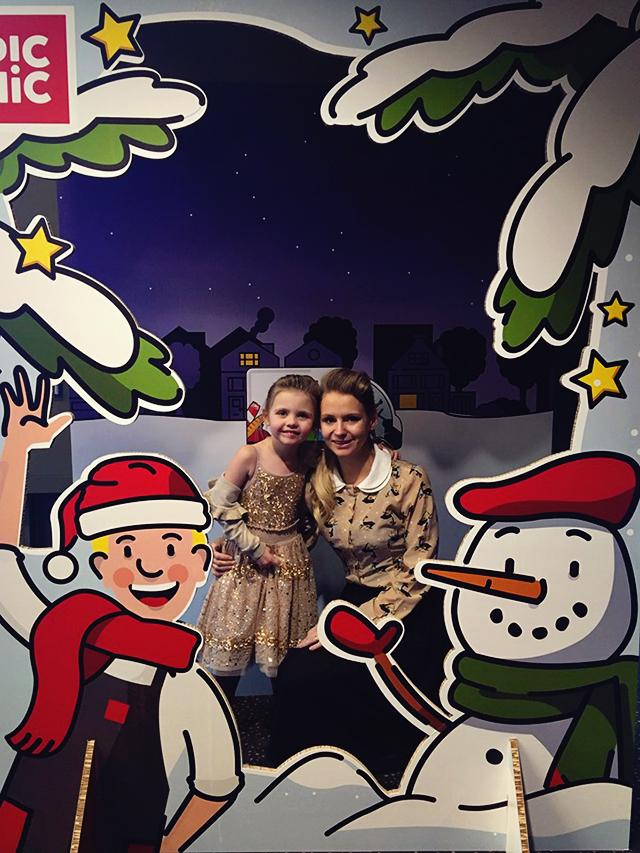 Kate Fleur winters tafereel Frozen 2