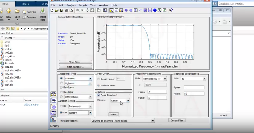 Secant method in matlab