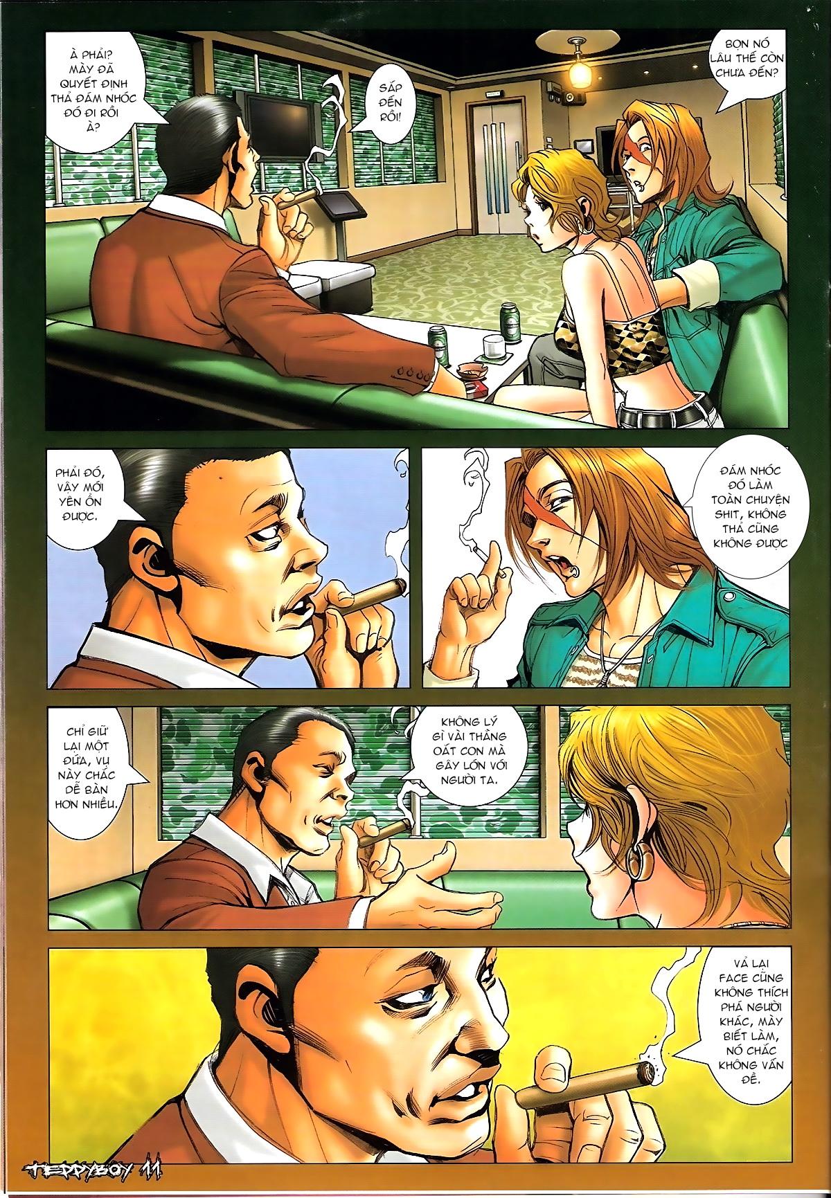 Người Trong Giang Hồ - Chapter 1331: Chạm trán - Pic 9