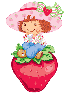 Clipart de Strawberry Shortcake.