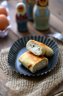 crêpe russe , blinchiki , fromage blanc , chandeleur , facile