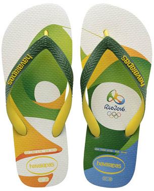 Havaianas colección Rio 2016 chanclas