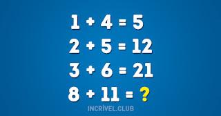 Resolva teste matematica